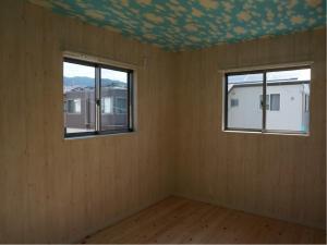 静岡 吹抜け 設計 オクシズ 杉 桧 塗り壁 無垢 リフォーム