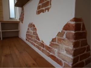 静岡 エイジング ヤマヨシホーム 吹抜け 設計 オクシズ 杉 桧 塗り壁 無垢 リフォーム