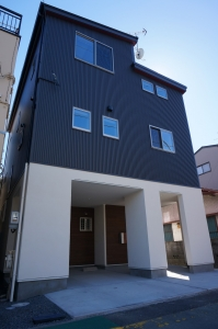 静岡 ガルバ 塗り壁 耐震